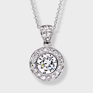 Must have summer sparkle the cubic zirconia pendant for every occasion 10 carat brillia cz pendant aloadofball Gallery
