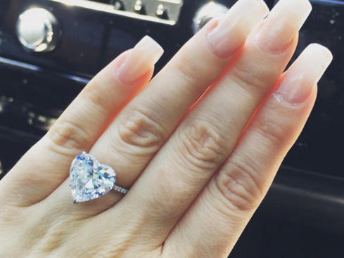 Top Five Celebrity Engagement Rings Of 2015