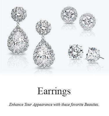 Buy cubic zirconia wedding earrings