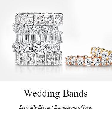 Buy cubic zirconia wedding bands