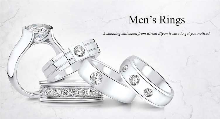 Buy men's cubic zirconia rings