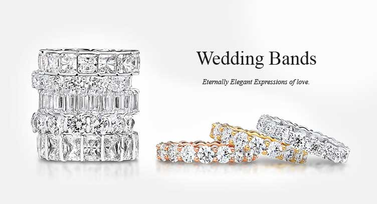 Buy cubic zirconia wedding bands